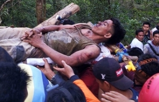 Endonezya'da maden ocağında heyelan: 7 ölü