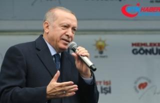 Erdoğan: 9 genci idam eden Sisi'nin davetine giden...