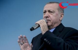 Erdoğan: Gıdada terör estirenlere gereken dersi...