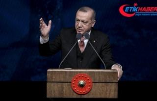 Erdoğan: Kuşakların aynı çatı altında yaşadığı...