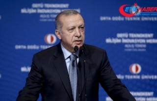 Erdoğan: Teknolojiye hakim olmadan bağımsızlığımızı...