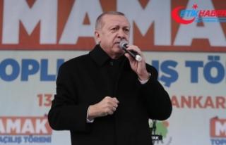 Erdoğan: 'Yıkım ittifakı seçimleri 17 yılın...