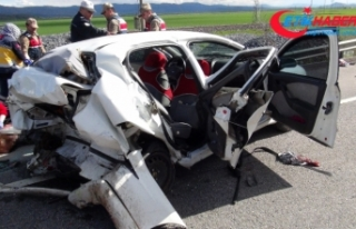Gaziantep'te feci kaza: 2 ölü, 3 yaralı