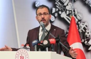 Gençlik ve Spor Bakanı Kasapoğlu: Tüm kötülükleri...