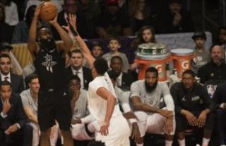 Houston Rockets, Harden'ın 44 sayı attığı...
