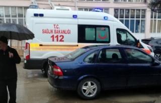 Hastanın ölümü sonrası ambulansın giremediği...