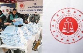 Hükümlülerin ürettiği bez çantalar pazarda dağıtıldı