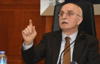 İçişleri Bakan Yardımcısı Tayyip Sabri Erdil:...
