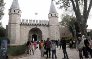 İstanbul'a 2018'de 13 milyondan fazla turist...