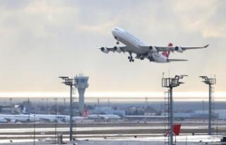 İstanbul havalimanlarından 1 ayda yaklaşık 56...