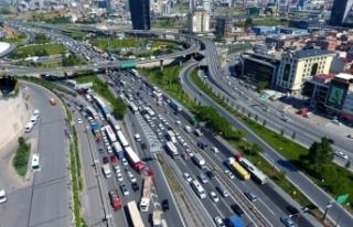 İstanbul'un araç sayısı 20 ilin nüfusuna denk