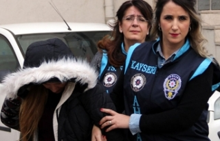 Kayseri'de fuhuş operasyonunda 5 şüpheli adliyede