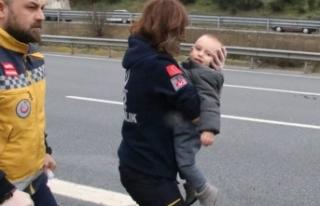 Kazada sürücü ve eşi öldü, çocuklarının burnu...