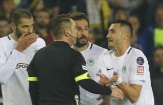 Konyasporlu Jahovic'in cezasına indirim
