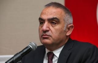 Kültür ve Turizm Bakanı Ersoy: Turizm sektöründen...