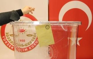 Mahalli seçimler için oy pusulası alınacak