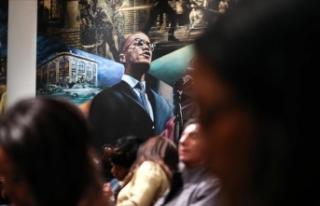 Malcolm X vefatının 54. yılında New York'ta...