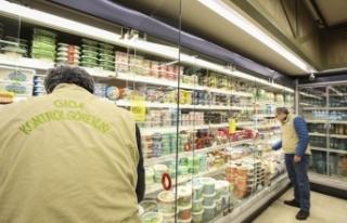 Marketlerde 'uygunsuz gıda' kontrolü