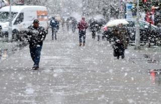 Marmara'da kar yağışı bekleniyor