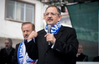 Mehmet Özhaseki: Şehir merkezinde ne varsa ilçe...