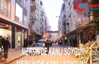 Mersin'deki kanlı soygun: 1 polise gözaltı