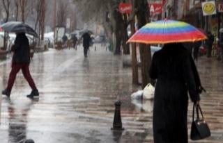 Meteorolojiden iki il için yoğun yağış uyarısı