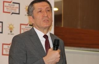 Milli Eğitim Bakanı Selçuk: Yerel yönetimlerle...