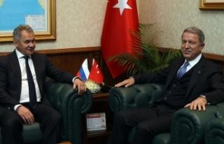 Milli Savunma Bakanı Akar: Bölgede istikrar ve barış...