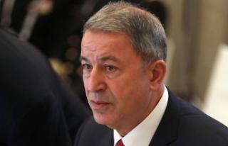 Milli Savunma Bakanı Akar: Suriye'de asıl mesele...
