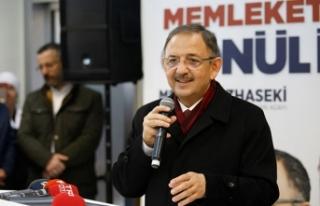 Özhaseki: Ha bizden Ahmet, ha MHP'den Mehmet...