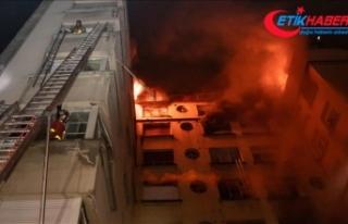 Paris'te bina yangını: 10 ölü, 30 yaralı