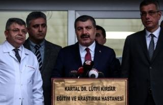 Sağlık Bakanı Koca: Hayatını kaybeden vatandaşımız...