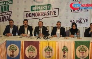 Şanlıurfa'da HDP'li adaylar, Saadet Partisi...