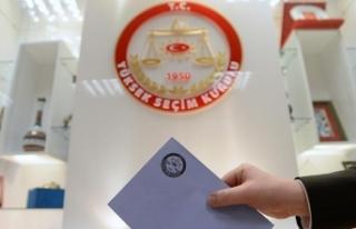 Seçmenler nerede oy kullanabileceklerini internetten...