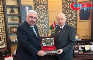 Semih Yalçın'dan, MHP lideri Devlet Bahçeli'ye...