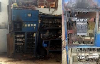 Simav'da yün fabrikasındaki trafo patladı:...