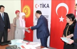TİKA'dan Kırgızistan'da kadınların...
