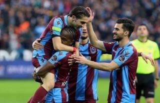 Trabzonspor 3 puanı tek golle aldı