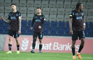 Trabzonspor'da 'kupa' üzüntüsü