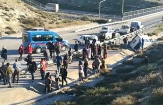 Turistik gezi yolunda feci kaza: Çok sayıda yaralı