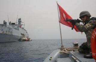 Türk askerinin Aden Körfezi'ndeki görev süresi...