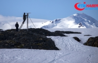 Türkiye Antarktika'da geçici bilim üssünü...