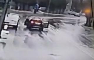 Tuzla'da banka önündeki gaspçı dehşeti kamerada
