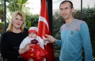 Ukraynalı anne, kızına can veren Türk donörle...