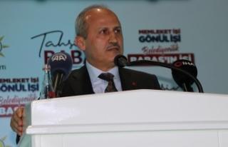 Ulaştırma ve Altyapı Bakanı Turhan: Bu millet...