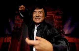 Ünlü aktör Jackie Chan'in balmumu figürü...