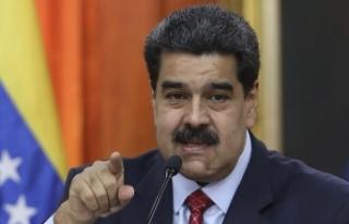 Venezuela Devlet Başkanı Maduro: Trump, elini kana...
