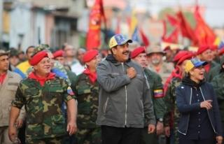 Venezuela Devlet Başkanı Maduro: Vatanımızı asla...