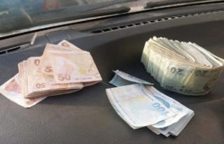 Yıkamaya gönderilen yorganın içinden para çıktı