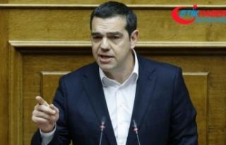 Yunanistan'da Çipras Dışişleri Bakanlığını...